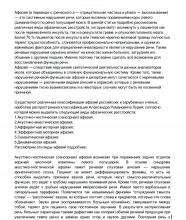 Речевые нарушения при инсульте, черепно-мозговых травмах (афазия, дизартрия)